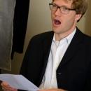 Martin singend